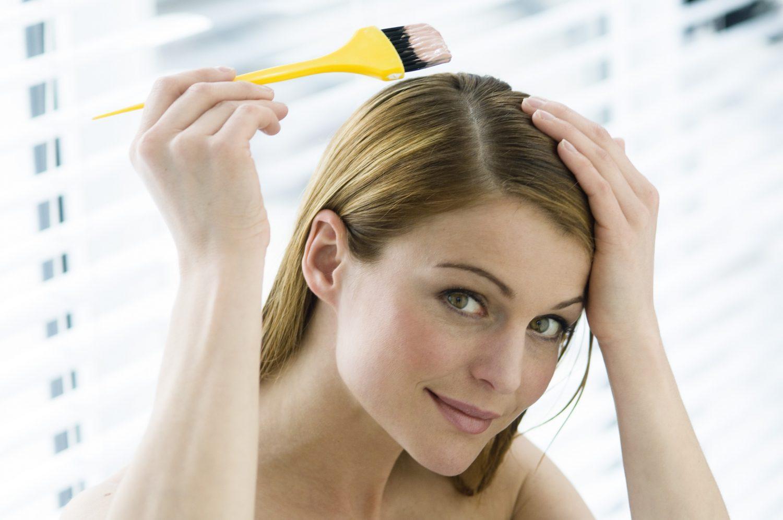 Как покрасить волосы в домашних условиях самой