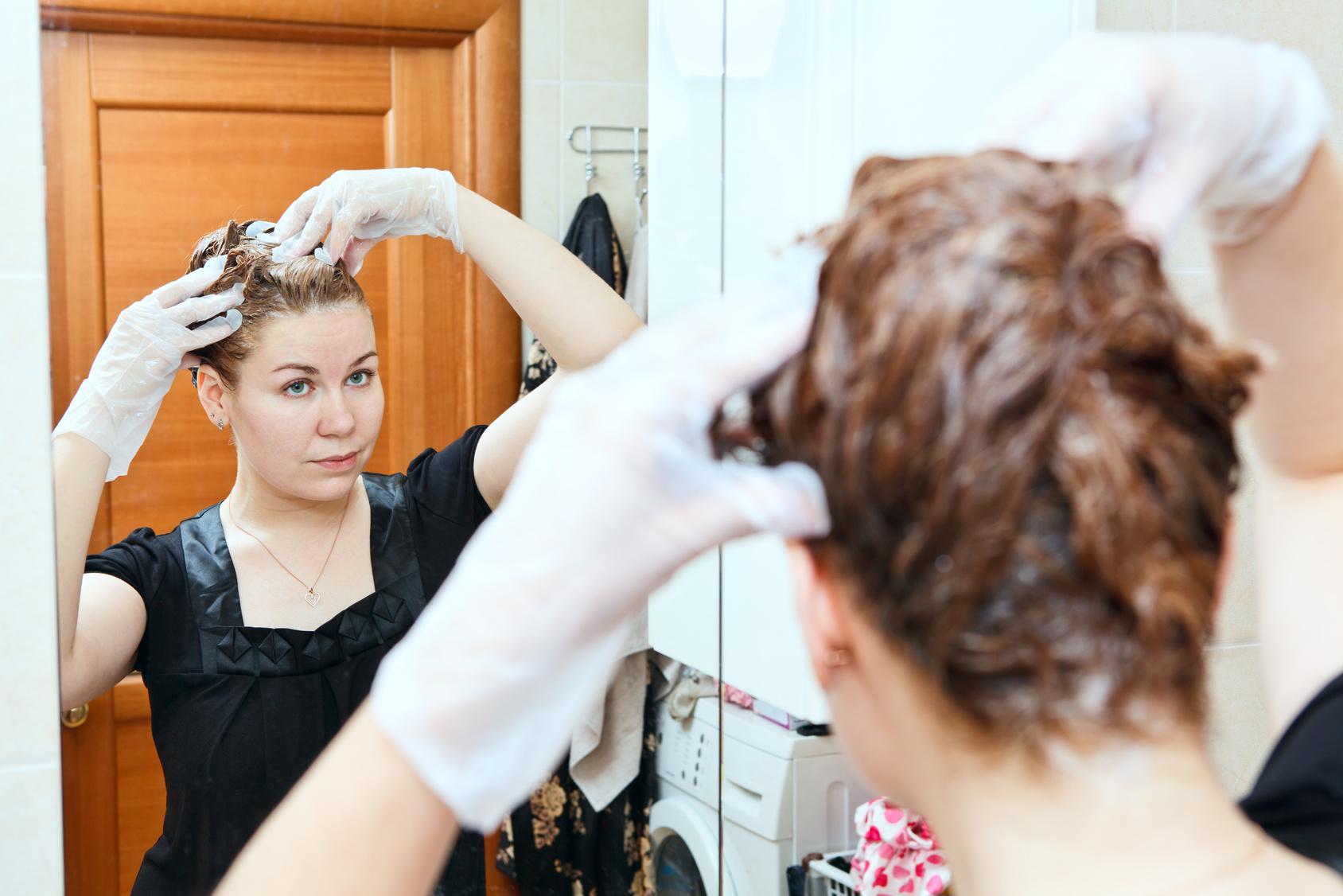 Окраска волос: как правильно красить волосы краской в 54