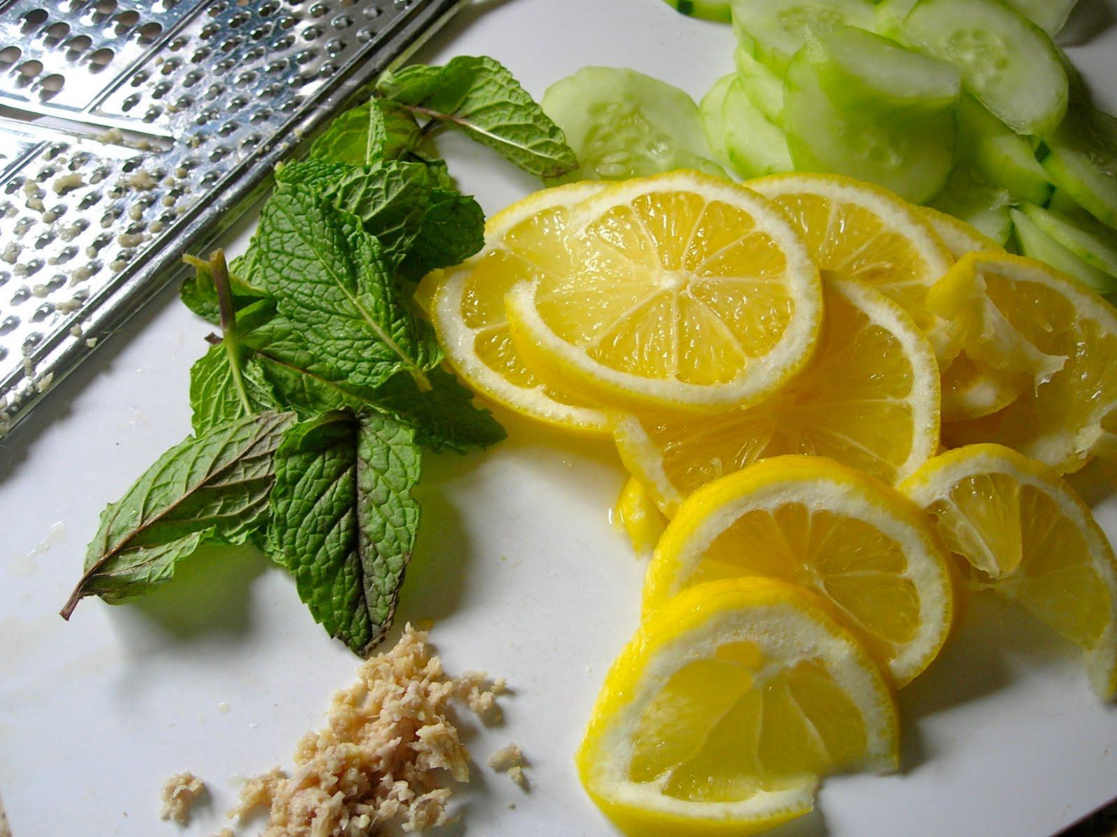 Вода лимон и мята для похудения отзывы фото