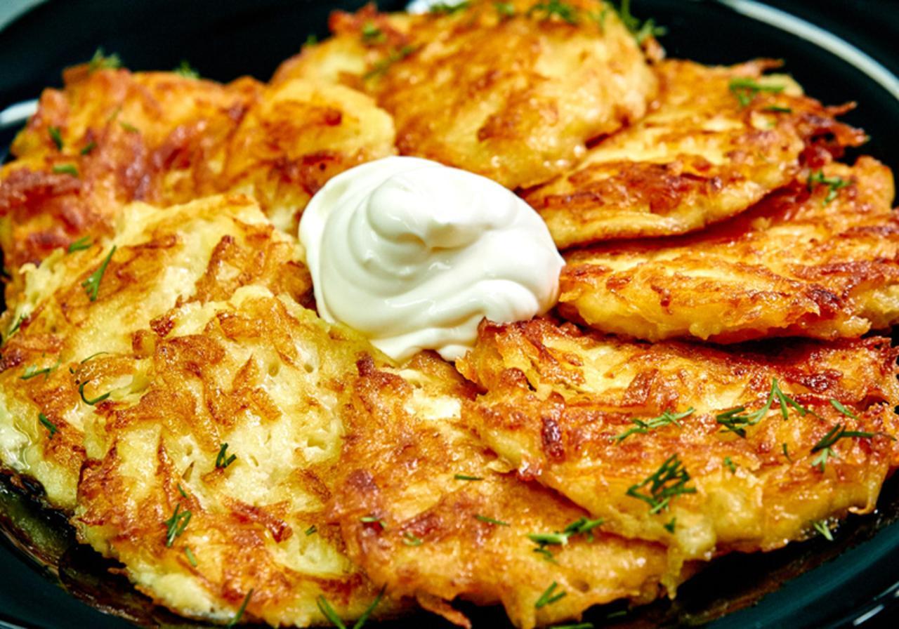 Драники из картошки и кабачка рецепт