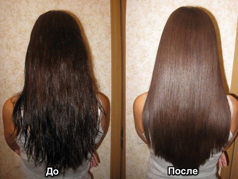 Кератин для волос чем полезен
