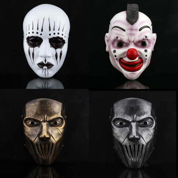 4-Types-Limited-Edition-Movie-themed-High-grade-Resin-Mask-Slipknot-Joey-Mick-Halloween-Party-Mask