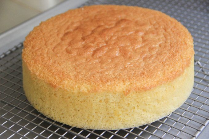 Рецепт классического бисквита с фото в домашних условиях