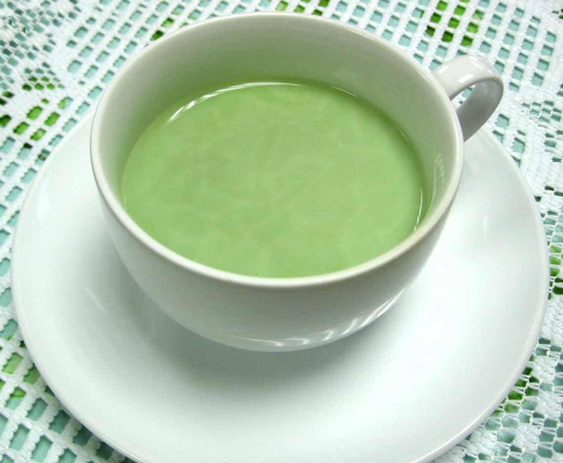 Молоко с зеленым чаем свойства
