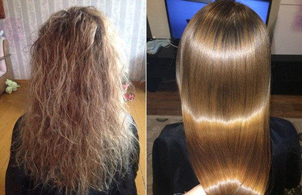 Все для кератинового восстановления волос в домашних условиях 20