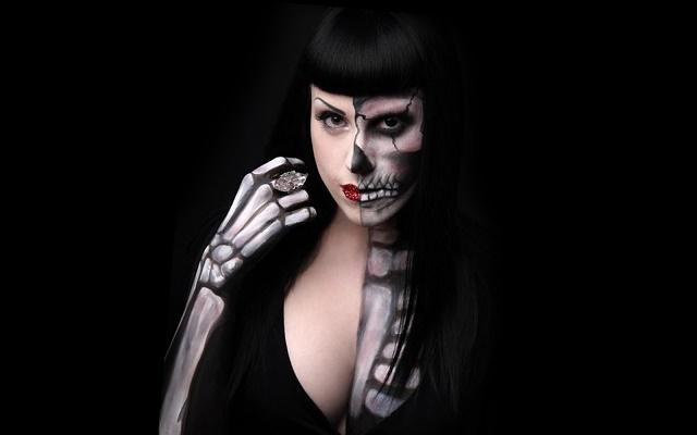 Раскраски скелетов человека