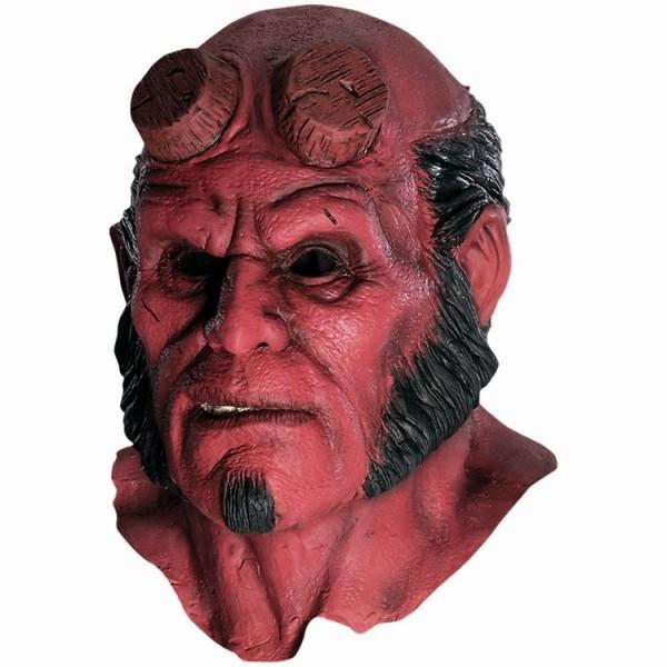 Хеллбой-маска-Гуд-Хэллоуин-маски-реалистичные-силиконовые-Косплей-страшно-маска-из-латекса-капот-тушь-террор-Vestido