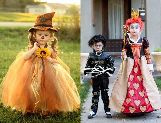 Костюм ребенка на хэллоуин своими руками