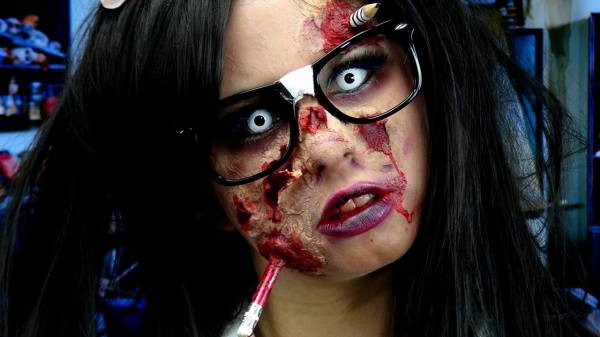 Как сделать маску на пол лица фото 791