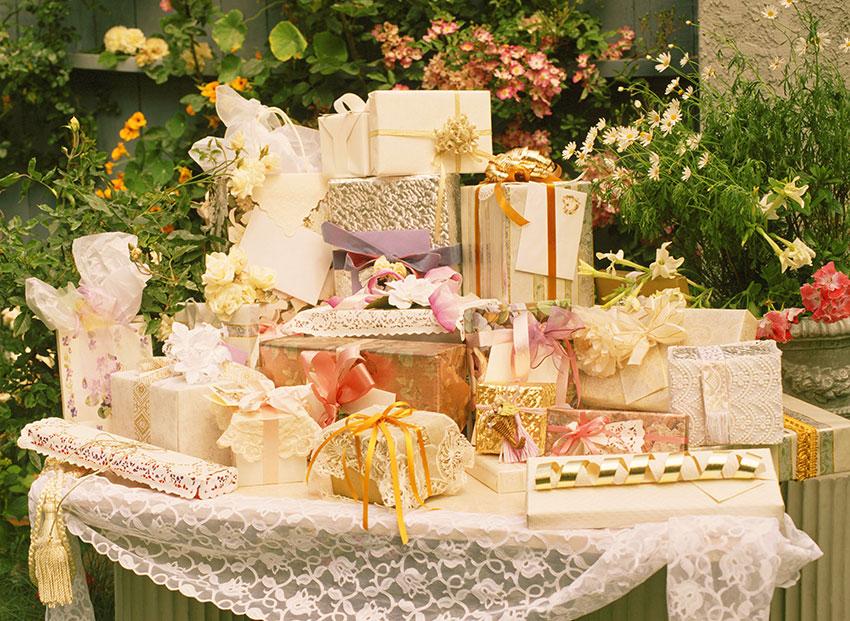 Традиции свадебных подарков 14