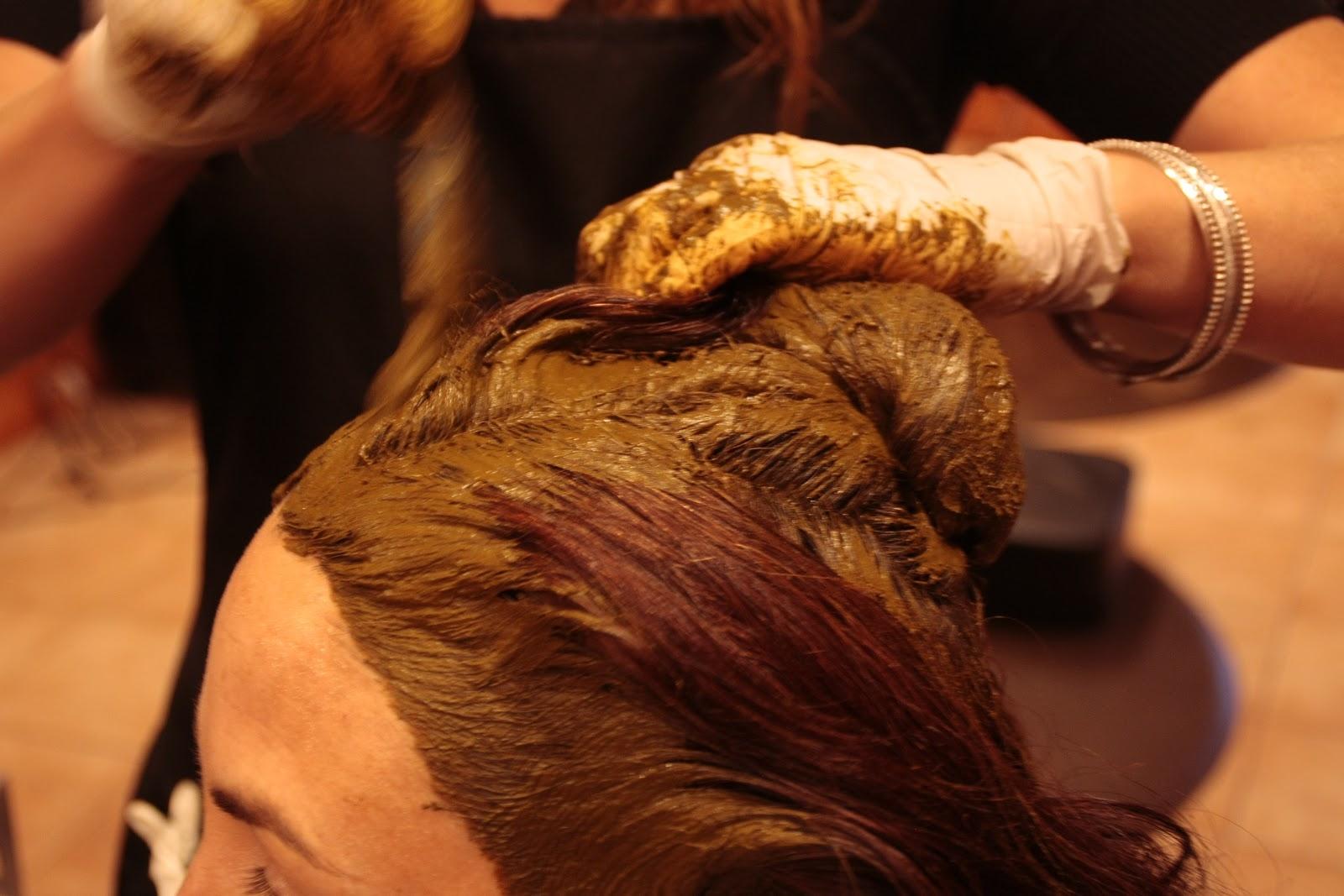 Как наносить хну на волосы? 626