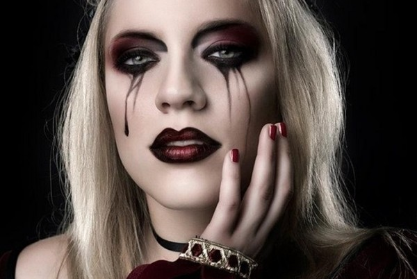 vampire makeup-anons