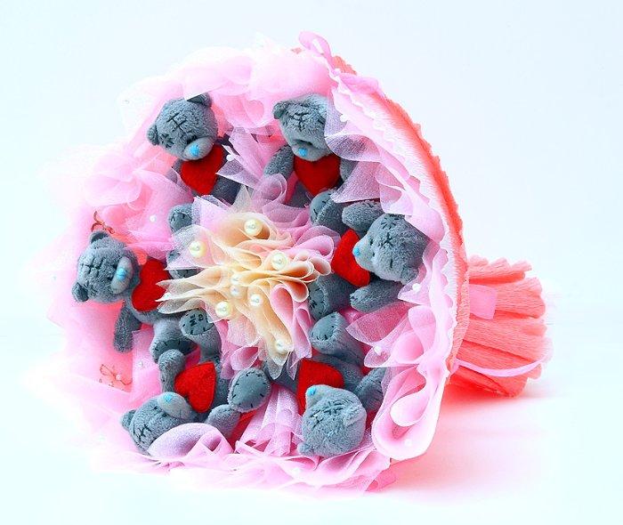 Заказать букет из игрушек купить цветы в нижневартовске оптом