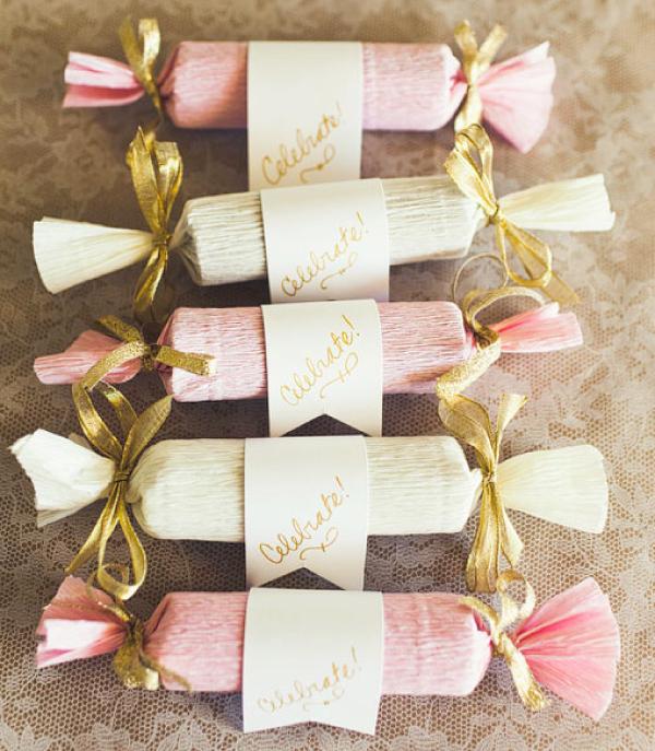 Маленькие подарки своими руками на свадьбу