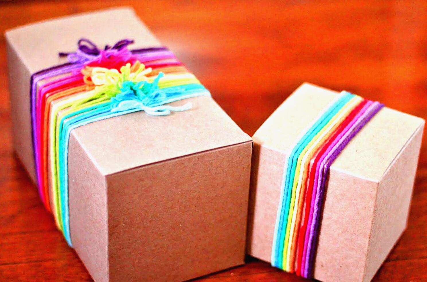 Как упаковать очень большой подарок 12