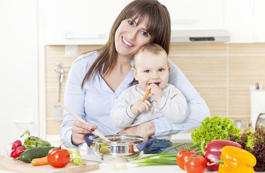 Как похудеть во время кормления ребенка