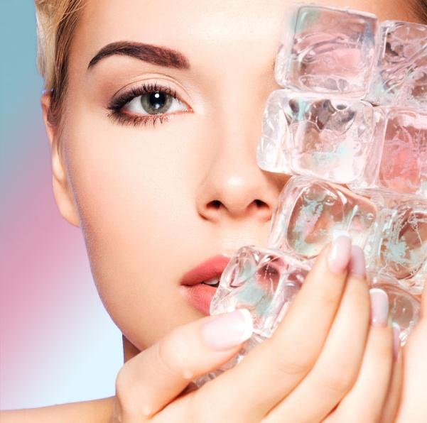 Картинки по запросу кубики льда для лица