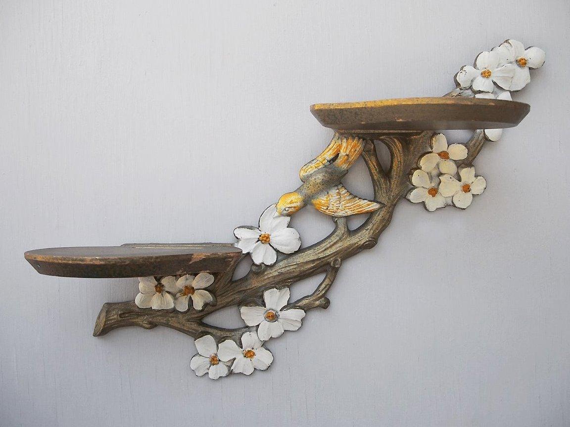Как сделать полки для цветов своими руками напольные